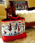 Snowman Large Carryall Bag