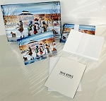 Southlake Snowman Stationary Set
