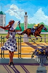 Breeders Cup 2018 Giclée Print on Canvas