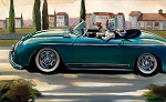 Entrade Cruising Giclée Print on Canvas