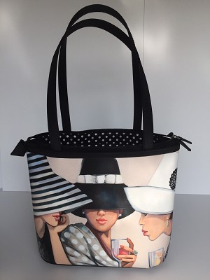 """Girl Talk"" Bucket Bag"