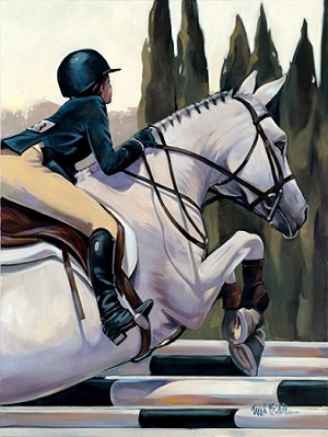 Hamptons Classic 2015 Giclée Print on Canvas