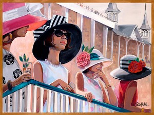 Derby 2017 Giclée Print on Canvas