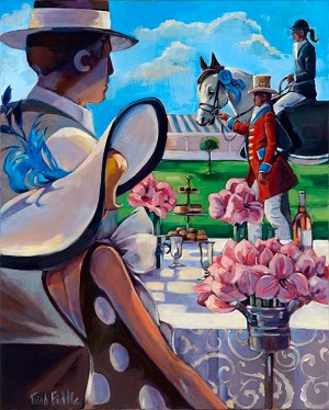 Hamptons Classic 2012 Giclée Print on Canvas