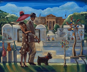 Southlake Art Festival Giclée Print on Canvas