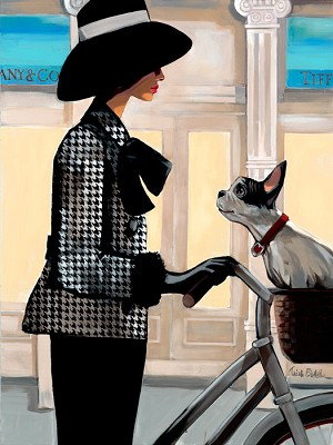 Tiffanys Giclée Print on Canvas