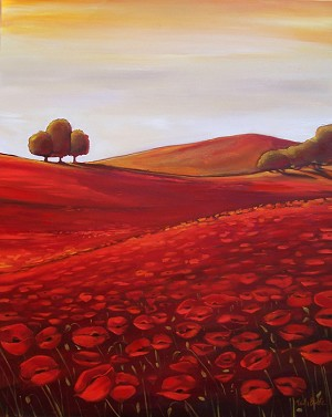 Tuscan Poppies 2
