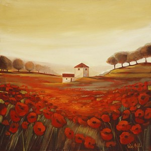 Tuscan Poppies 8