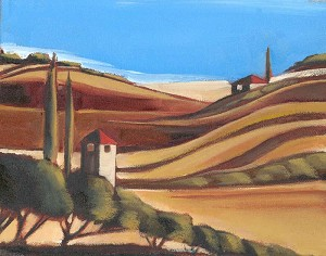 Tuscany 4 Giclée Print on Canvas